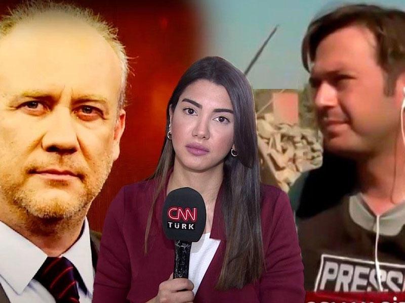 Haqlı səsimizi dünyaya çatdıran türk jurnalistlər - FOTO