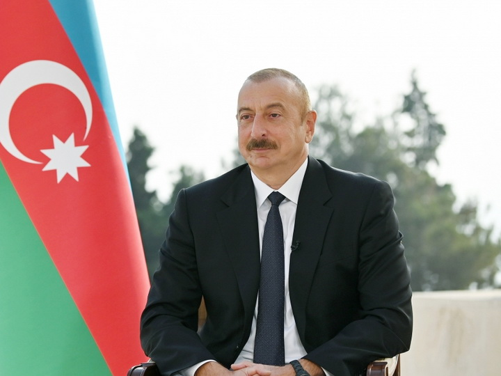 Президент Азербайджана: «Больше всех оружие нам поставляют не Турция и Израиль. Это Россия»