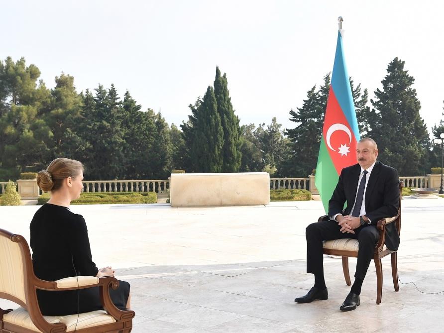 Ильхам Алиев дал интервью агентству ТАСС - ФОТО