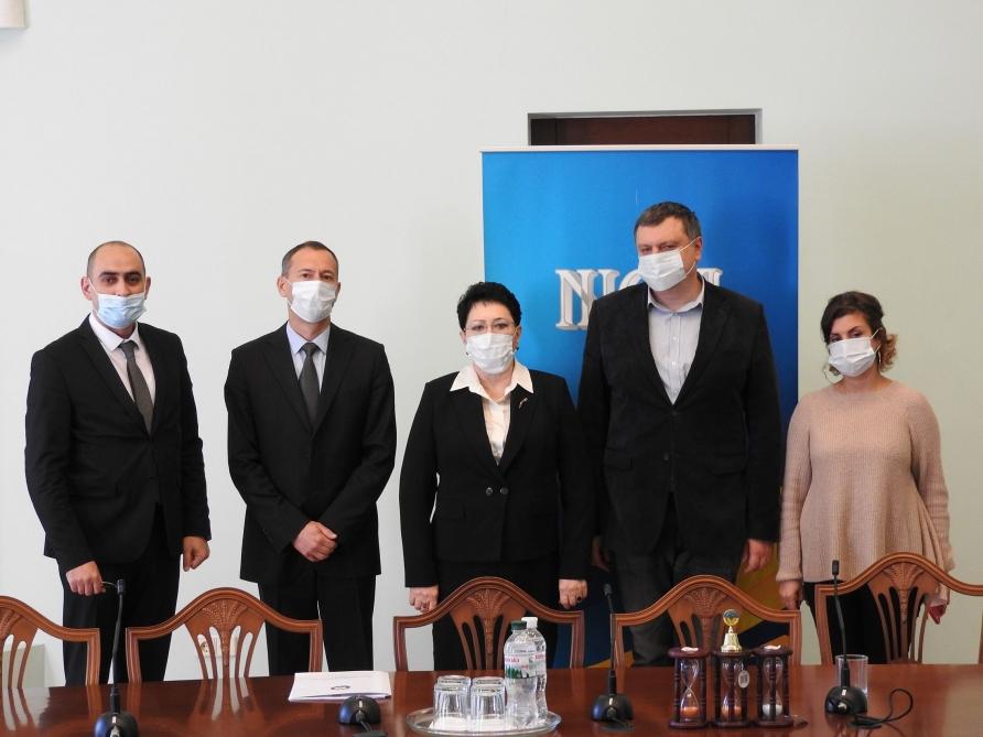 Эльмира Ахундова проинформировала председателя НИСИ Украины о военных преступлениях Армении - ФОТО
