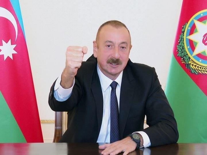 Prezident İlham Əliyev: Zəngilan şəhəri və 24 kənd işğaldan azad olundu - SİYAHI