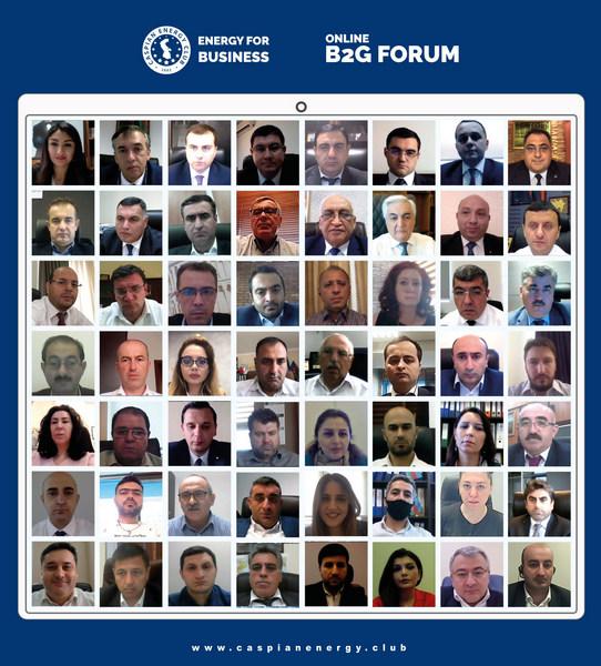 Caspian Energy Club Samirə Musayevanın iştirakı ilə ONLAYN B2G FORUM təşkil edib