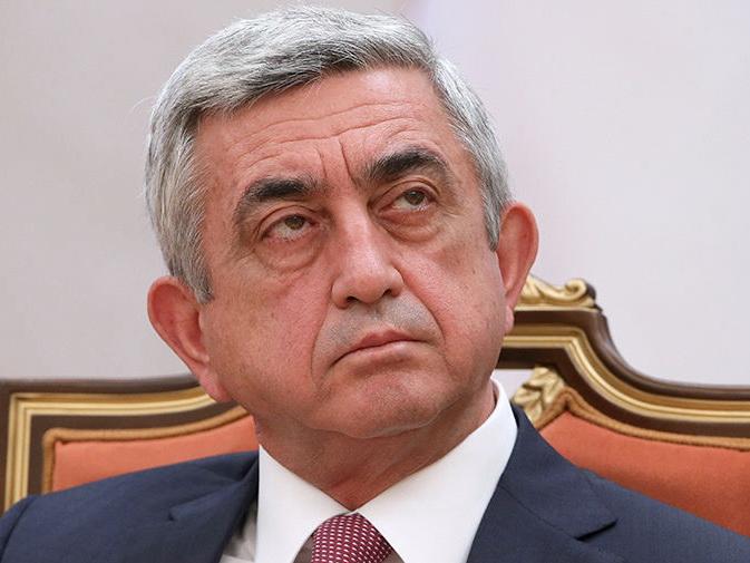 Серж Саргсян: В армянской армии большие потери, много погибших