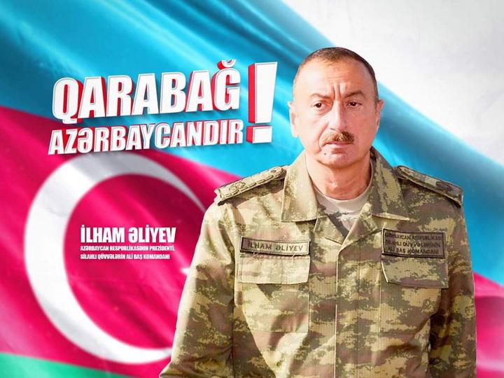 İlham Əliyev: Rəşadətli Ordumuz Füzulinin daha üç kəndini işğaldan azad edib