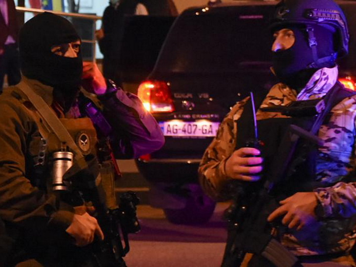 У офиса правящей партии Грузии произошла стрельба