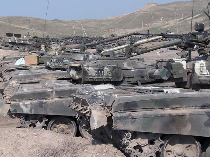 Кадры очередной захваченной военной техники ВС Армении – ВИДЕО