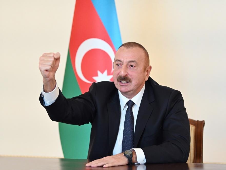 Президент Ильхам Алиев: «Азербайджано-иранская граница взята под полный контроль, поздравляю народы двух наших стран!» - ВИДЕО
