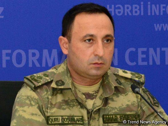 Минобороны: Азербайджанская армия продолжает бои с большой волей к победе