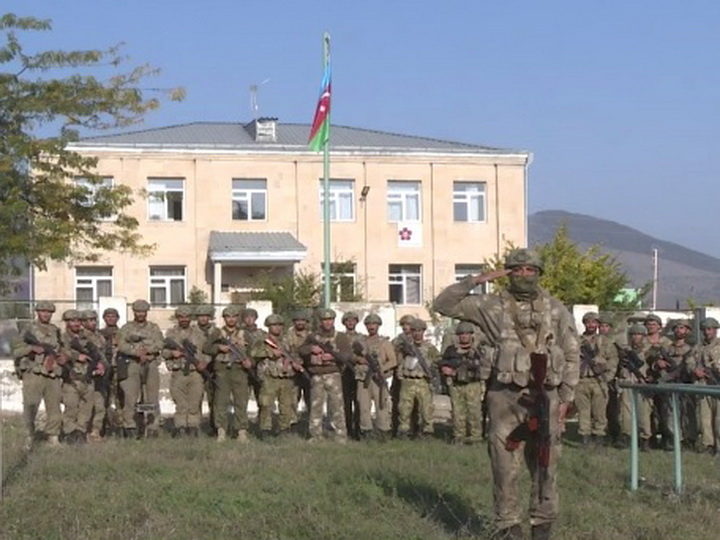 Генпрокуратура - о здании в Зангилане, перед которым был поднят азербайджанский флаг - ВИДЕО