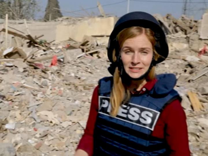Телеканал Deutsche Welle показал репортаж о ракетном обстреле Арменией Гянджи - ФОТО