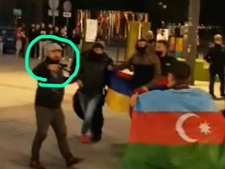 Армяне устроили провокацию на мирном митинге азербайджанской молодежи в Польше - ФОТО - ВИДЕО