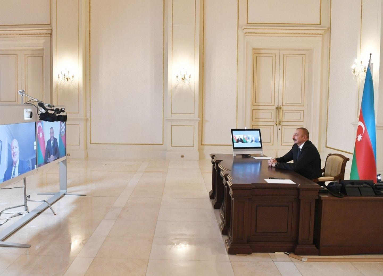 Ильхам Алиев дал интервью французской газете «Figaro» - ФОТО - ВИДЕО