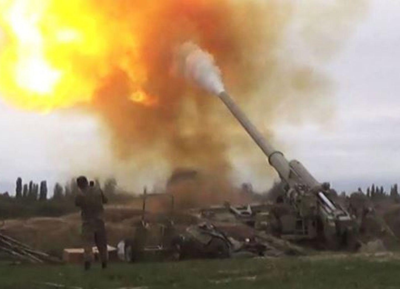 Лачинский и Губадлинский районы подвергаются ракетно-артиллерийскому обстрелу с территории Армении