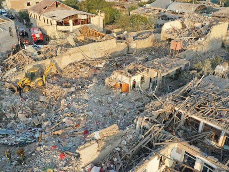 Erməni təxribatı nəticəsində 65 mülki şəxs həlak olub, 297 nəfər yaralanıb