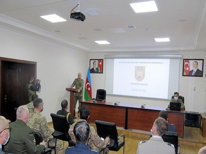 Beynəlxalq təşkilatlar Ermənistanın münaqişədə birbaşa iştirakı barədə məlumatlandırılıb - FOTO