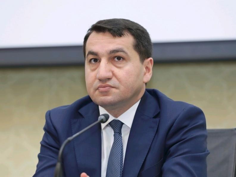Хикмет Гаджиев: Атака территории Азербайджана с территории Армении является очередным актом военной агрессии