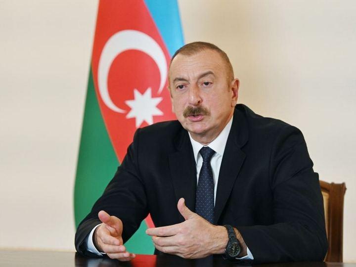 Ильхам Алиев: Мы не проводили этническую чистку против армян и сейчас не намерены этого делать