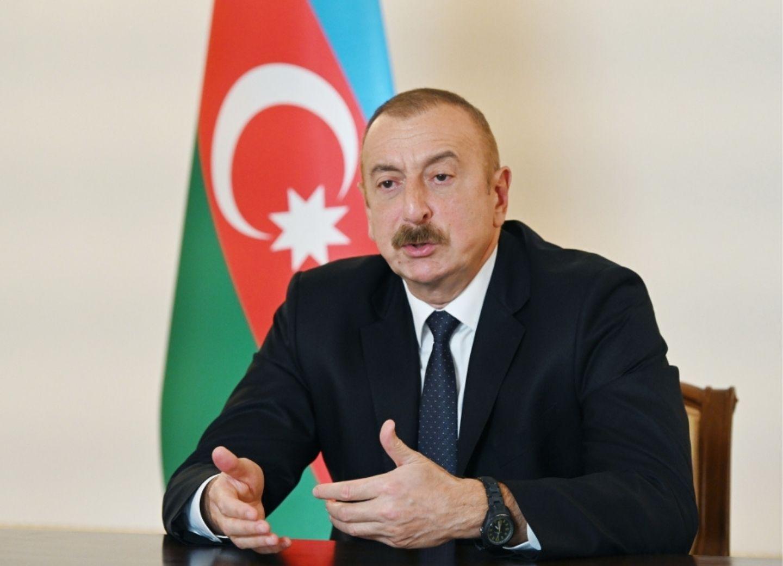 Ильхам Алиев: Из-за игнорирования международного права выполнение резолюций СБ ООН путем применения силы было неизбежным