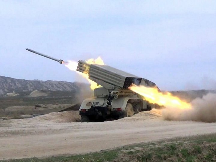 Müdafiə Nazirliyi: Qubadlı rayonu Ermənistan ərazisindən artilleriya atəşinə tutulur