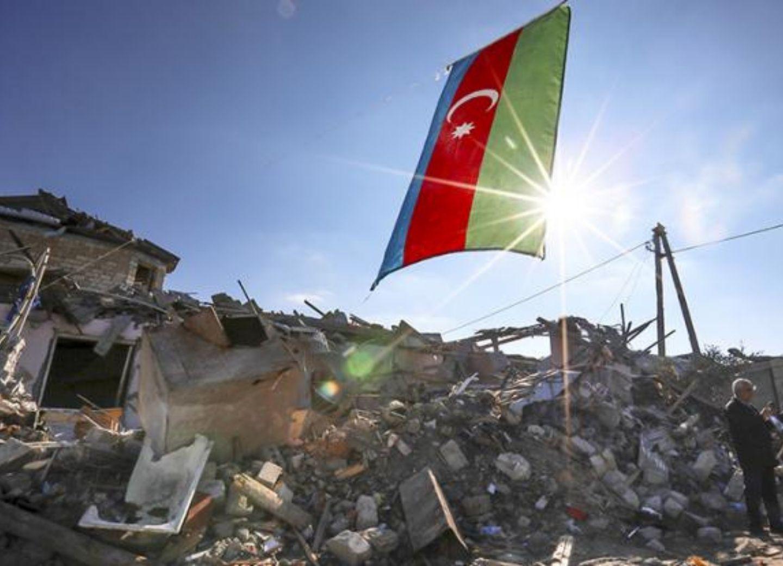 Российские СМИ: Азербайджан призывает остановить атаки на мирных граждан вне зоны боевых действий – ФОТО