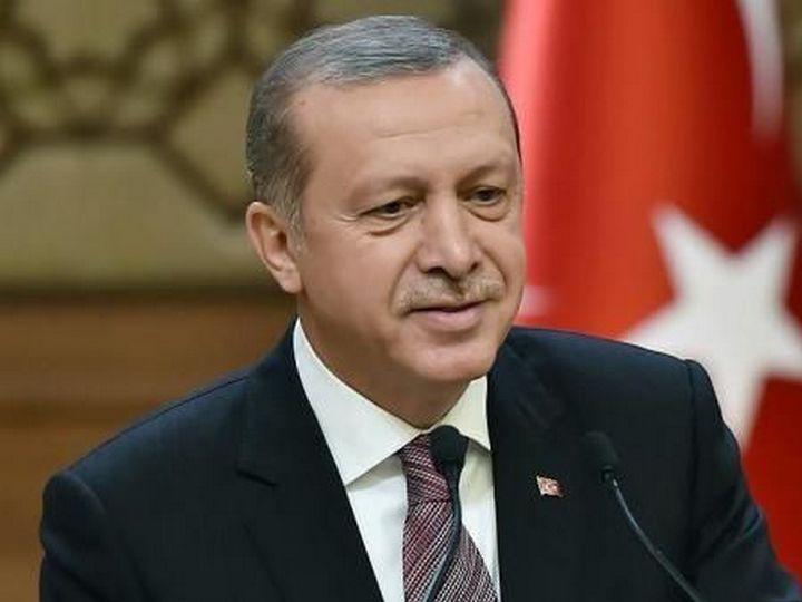 Ərdoğan: Türkiyə Azərbaycana dəstəyinə görə ABŞ sanksiyalarından qorxmur