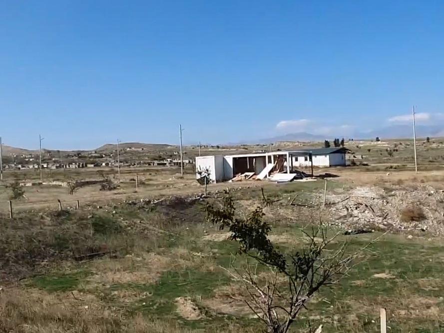 Освобожденные от оккупации сёла Джебраильского и Зангиланского районов Азербайджана - ВИДЕО
