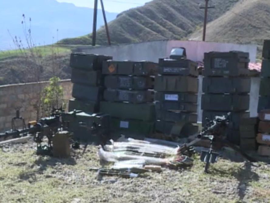 На губадлинском направлении отражена армянская атака, взяты трофеи – ВИДЕО