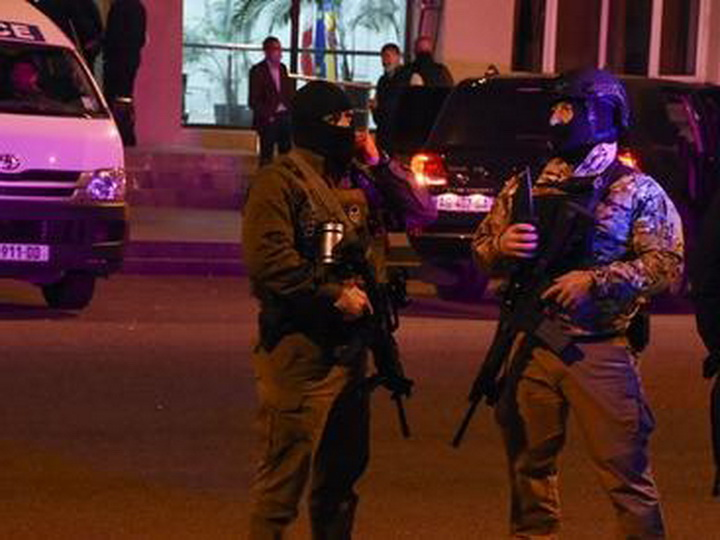 МВД Грузии назвало имя подозреваемого в захвате заложников в банке Зугдиди