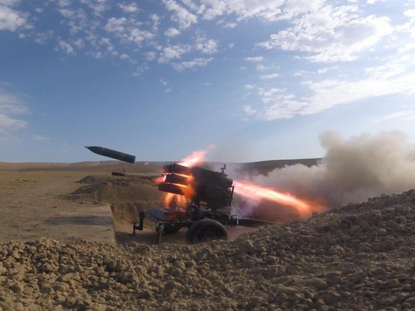 Армянские ВС обстреливают Агдамский район