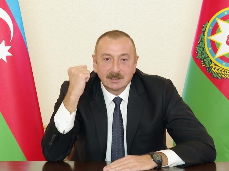 Президент Ильхам Алиев выступил с обращением к народу - ФОТО - ВИДЕО