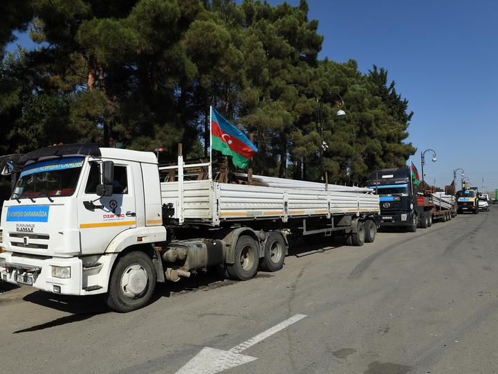 «Азеришыг» в Карабахе»: на освобожденных территориях проводится электричество - ФОТО
