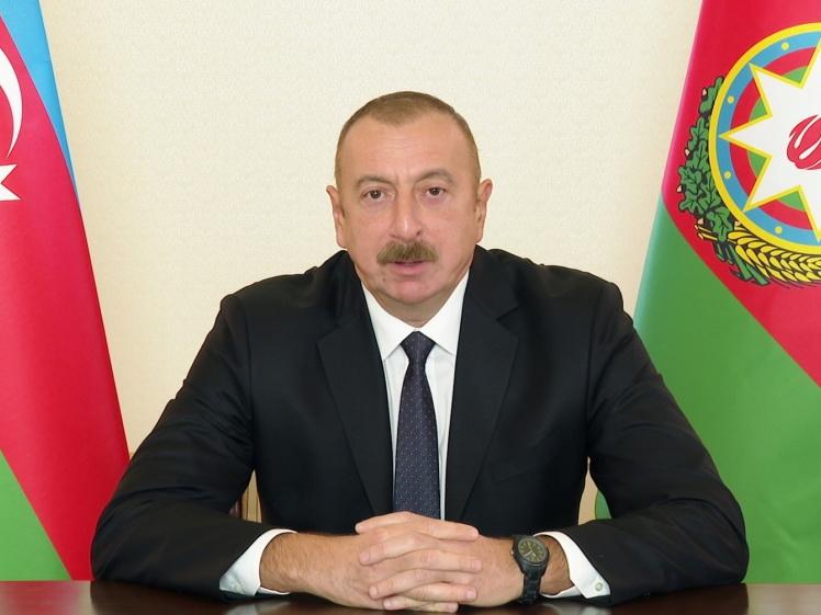 Ильхам Алиев: Азербайджан ведет Отечественную войну