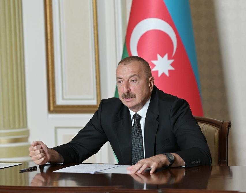 """Azərbaycan Prezidenti: """"Biz döyüş meydanında tarixi ədaləti bərpa edirik"""""""