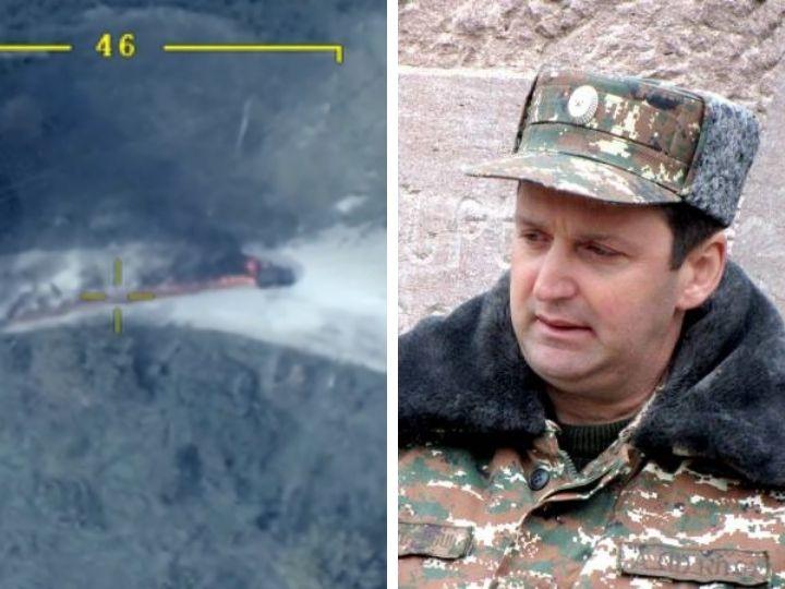 Как Азербайджанская армия ликвидировала военного преступника – «министра обороны» Карабаха Арутюняна – ВИДЕО