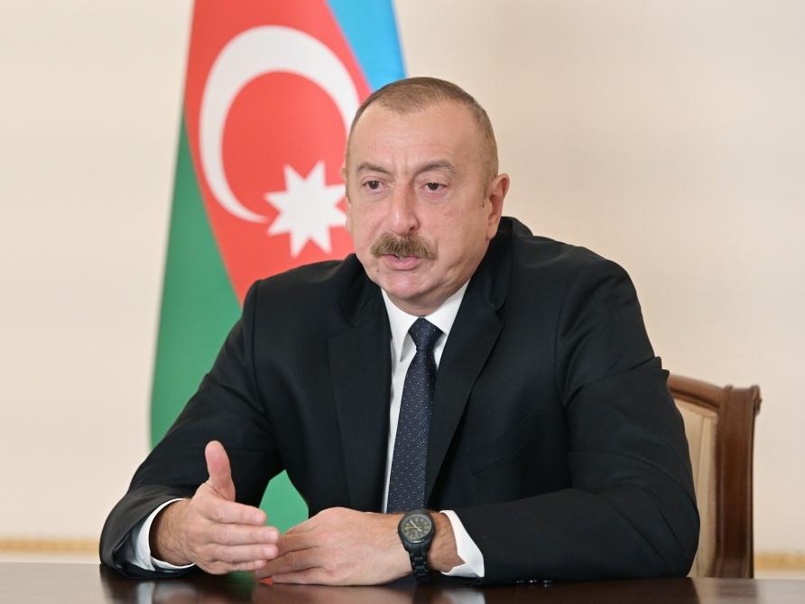 Ильхам Алиев: Армения в лице премьер-министра должна публично заявить, что принимает базовые принципы
