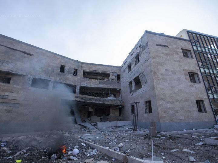 Очередной армянский фейк: «разрушенный роддом» в Ханкенди оказался стройплощадкой – ФОТО