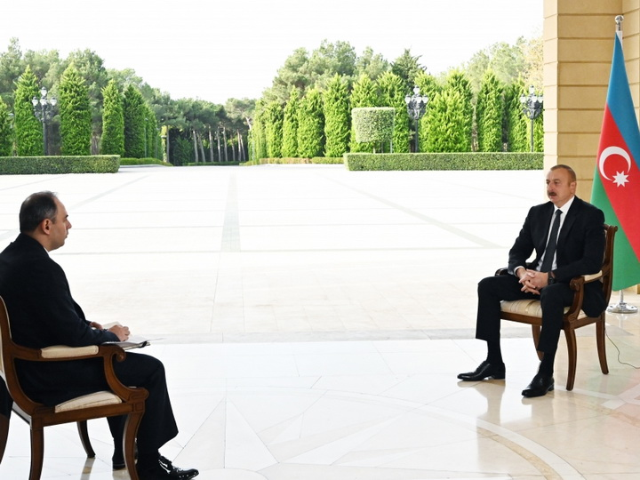 Президент Азербайджана: «Если кто-то хочет создать для армян второе государство, пусть даст часть своей территории и там создает»