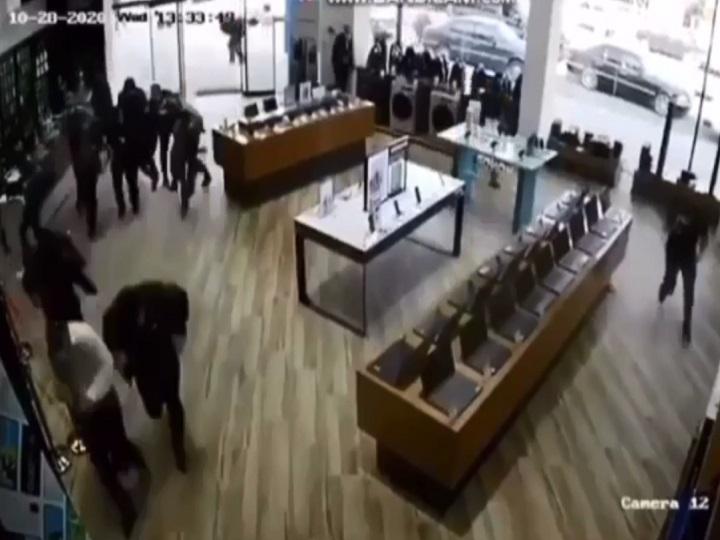 Bərdənin vurulma anı – VİDEO