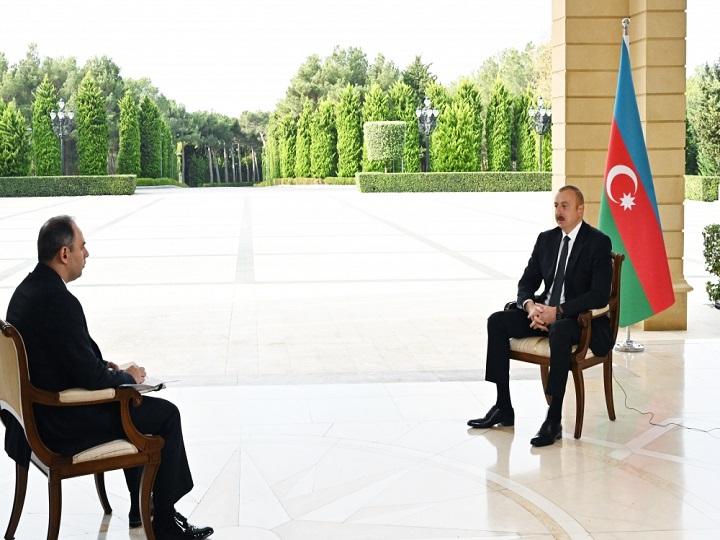 Hərbi qarşıdurmanın nə qədər uzun müddət davam edəcəyi erməni tərəfindən asılıdır – Prezident
