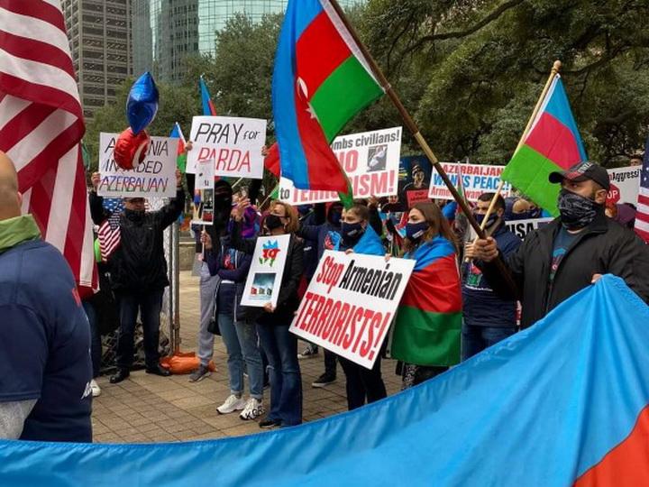 Акция протеста против армянского терроризма прошла в Хьюстоне - ФОТО - ВИДЕО