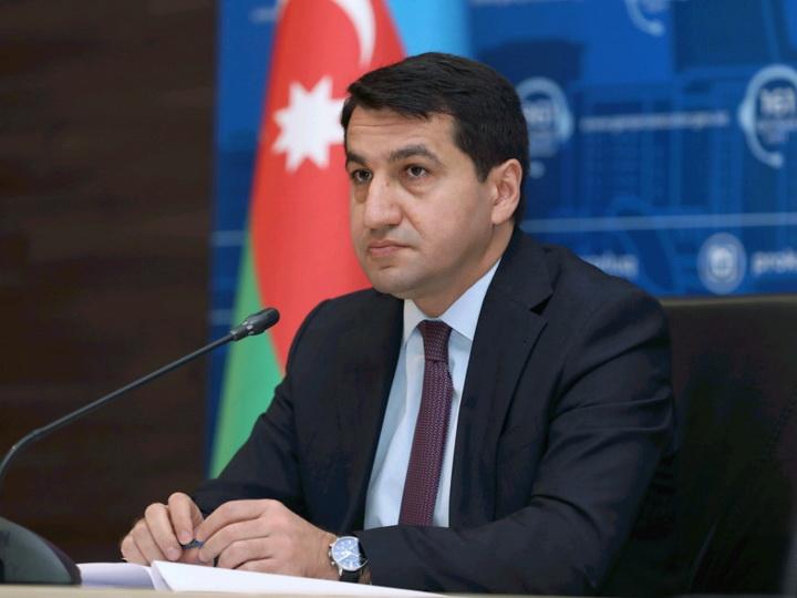 Хикмет Гаджиев: Армения проводит этническую чистку против азербайджанского народа