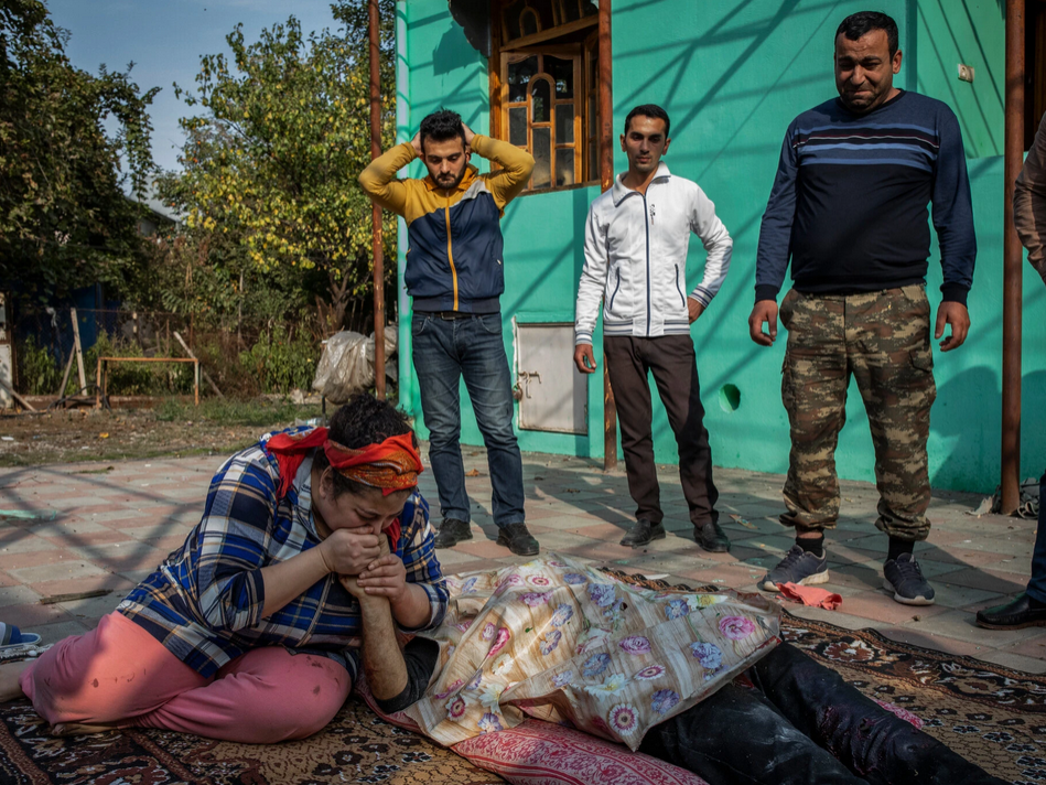 NY Times: In Azerbaijan, a String of Explosions, Screams and Then Blood