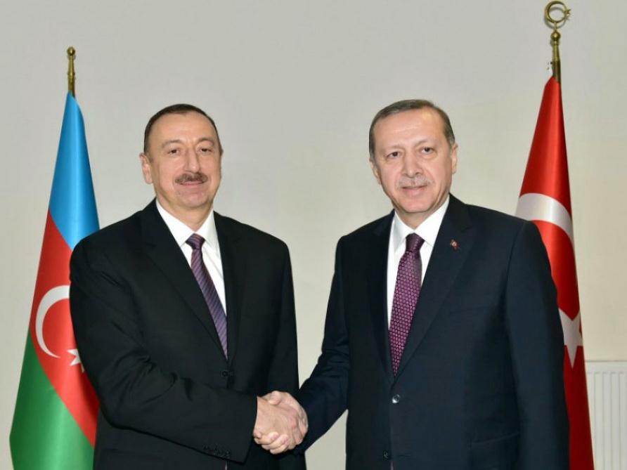 Ильхам Алиев: Народы Азербайджана и Турции будут и впредь находиться рядом друг с другом