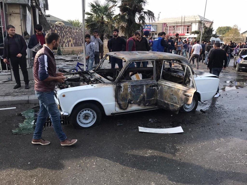 Глава ИВ Барды: Ракетный удар был нанесен по территории с интенсивным транспортным потоком