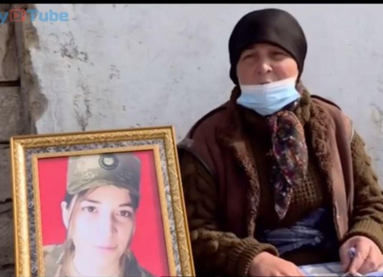 Первая женщина - шехид Второй Карабахской войны: «Она не боялась смерти...» - ВИДЕО