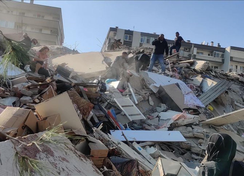 Возросло число жертв землетрясения в Измире - ФОТО - ВИДЕО - ОБНОВЛЕНО