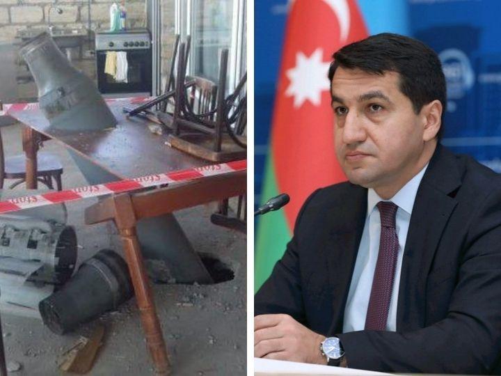 Хикмет Гаджиев – о ракете РСЗО «Смерч», выпущенной по азербайджанскому селу – ФОТО