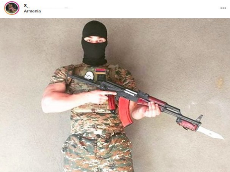 Ekstremist qruplaşmanın rəhbəri Dağlıq Qarabağa vuruşmağa yola düşüb – FOTO
