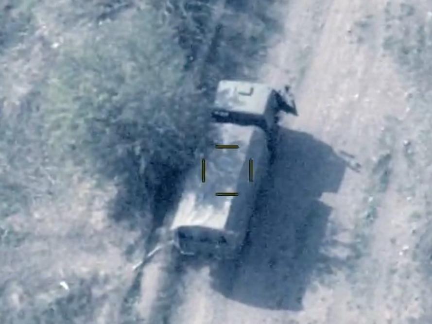 МО: уничтожена разведывательно-диверсионная группа и выведены из строя два военно-транспортных средства противника - ВИДЕО