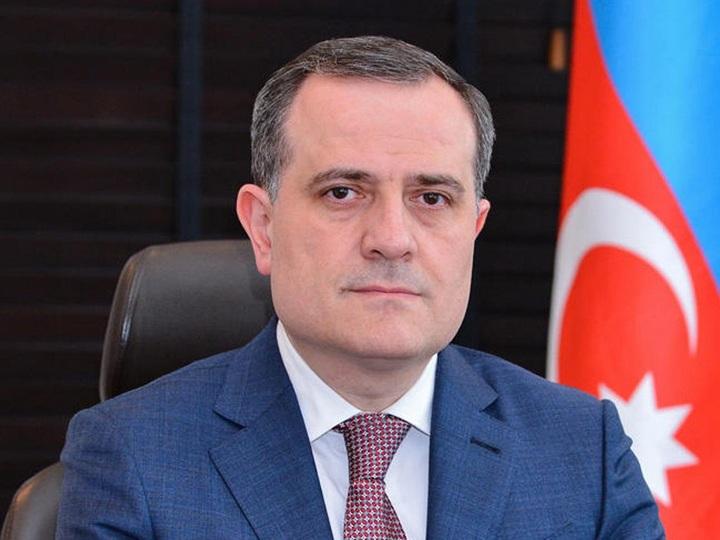 """Ceyhun Bayramov: """"Həmrəyliyimiz, dəstəyimiz, dualarımız sizinlədir, qardaş Türkiyə!"""""""